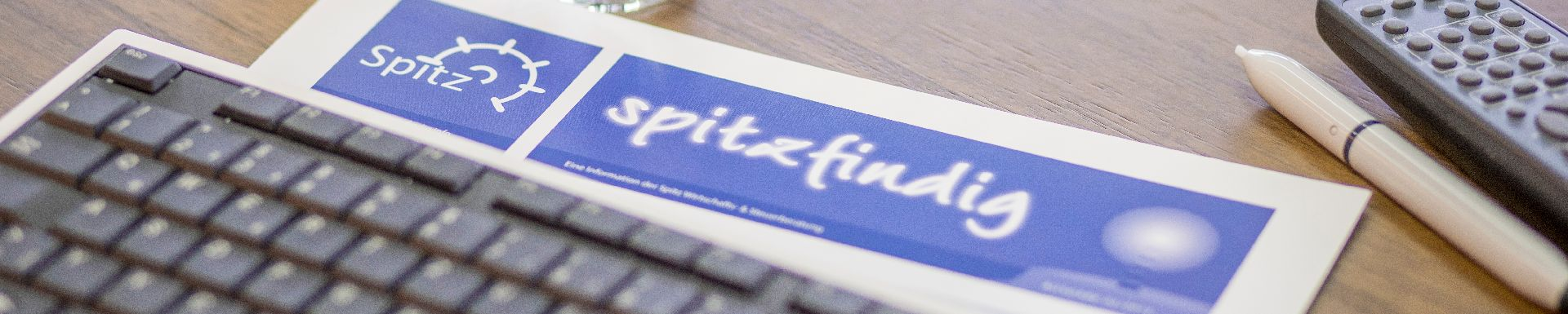 """Kundenzeitschrift """"spitzfindig"""""""